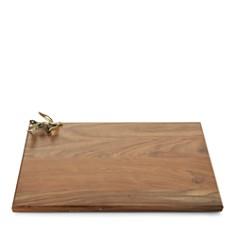 Michael Aram - Olive Branch Gold Oversized Wood Serving Board