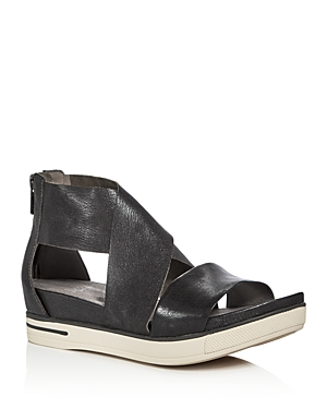 Eileen Fisher Sport Crisscross Platform Sandals