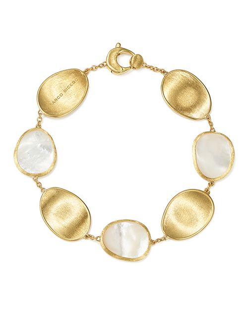 Marco Bicego - 18K Yellow Gold Lunaria Mother-of-Pearl Bracelet