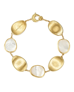 Marco Bicego 18K Yellow Gold Lunaria Mother-of-Pearl Bracelet-Jewelry & Accessories