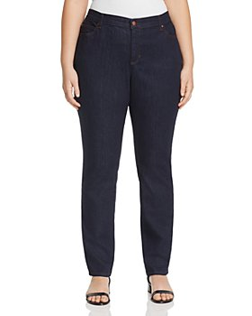 Eileen Fisher Plus - System Skinny Jeans in Indigo