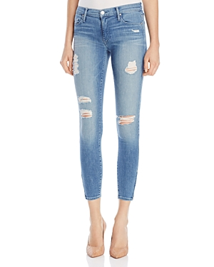Black Orchid Amber Zip Skinny Jeans in Tequila Sunrise