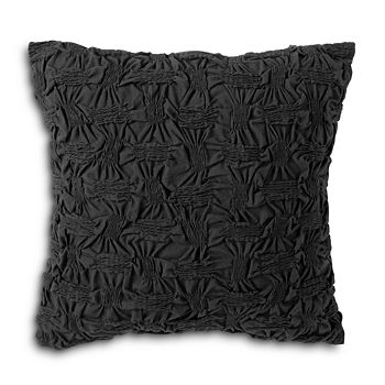 "DKNY - Check Please Decorative Pillow, 16"" x 16"""