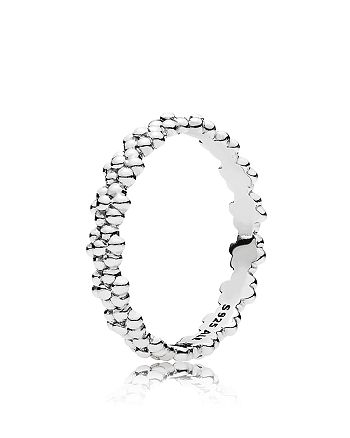 PANDORA - Ring - Sterling Silver Ring of Daisies
