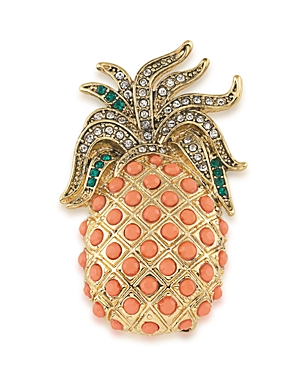 Carolee Pineapple Brooch