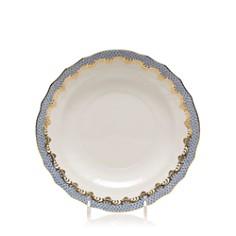 Herend - Fishscale Light Blue Salad Plate