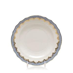 Herend Fishscale Light Blue Salad Plate