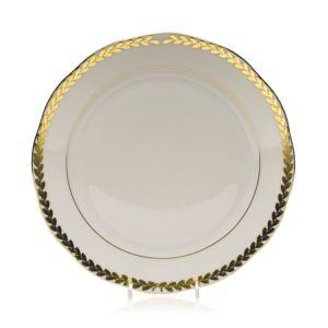 Herend Golden Laurel Dinner Plate