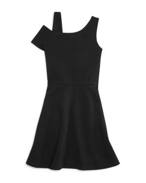 Aqua Girls' Asymmetrical Skater Dress, Big Kid - 100% Exclusive