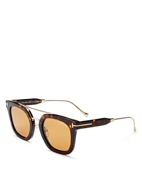 Tom Ford - Women's Alex Brow Bar Square Sunglasses, 50mm