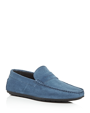 Hugo Dandy Perforated Suede Drivers