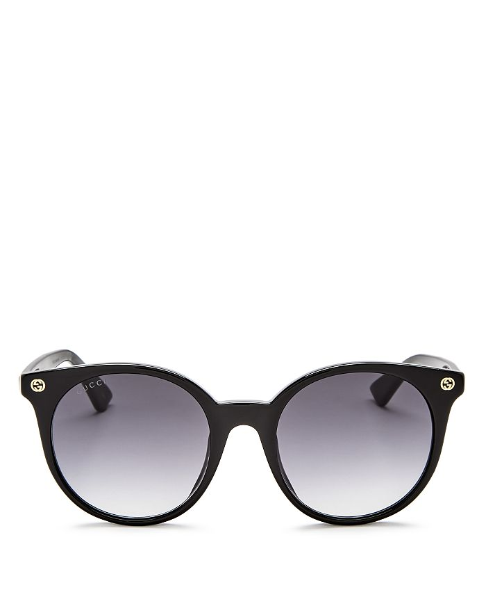 b340651dfe22 Gucci Women's Pantos Round Sunglasses, 52mm | Bloomingdale's