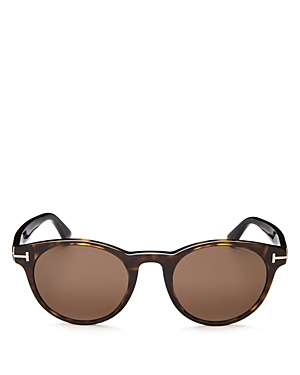 Tom Ford Palmer Round Sunglasses, 51mm
