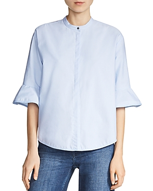 Maje Charly Flared-Sleeve Shirt