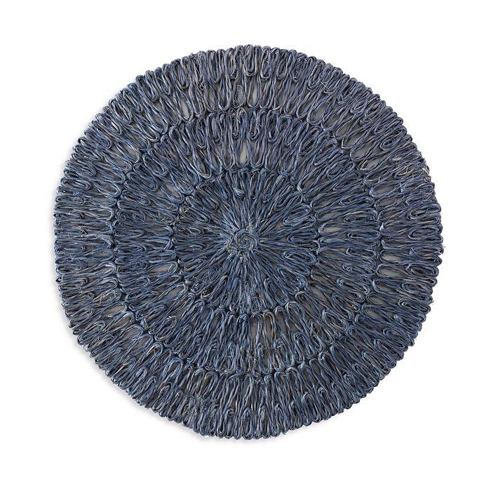 Juliska - Straw Loop Blue Placemat