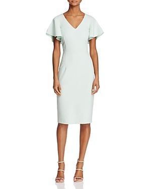 Adrianna Papell Flutter Sleeve Dress
