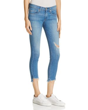 rag & bone/Jean Distressed Carpi Jeans in Sunset
