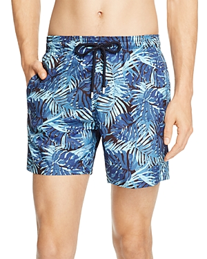 Vilebrequin Mahina Madrague Printed Swim Trunks