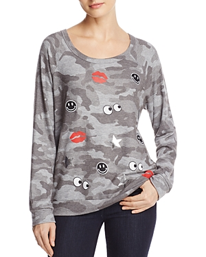 Aqua x Lauren Moshi Emoji Love Pullover - 100% Exclusive