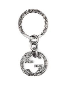 Gucci - Sterling Silver Interlocking G Key Fob
