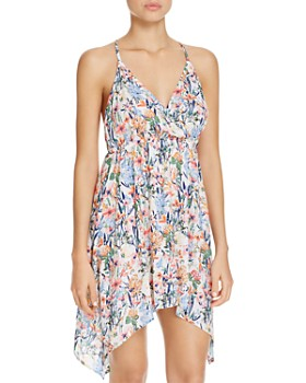 9cf971d712721 Lucky Brand - Lucky Garden Dress Swim Cover-Up ...