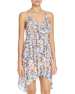 Lucky Brand Lucky Garden Dress Swim Cover-Up-Women