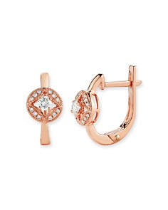 Diamond Earrings in 14K Rose Gold, .20 ct. t.w. - Bloomingdale's_0