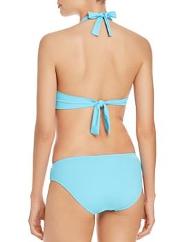 Tommy Bahama - Pearl Underwire  Halter Bikini Top & Pearl Shirred Bikini Bottom