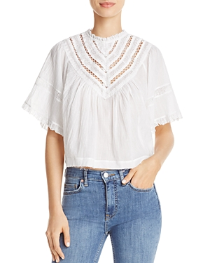 Free People Lush Life Split-Back Top