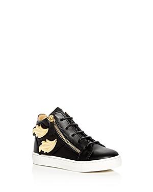 Giuseppe Zanotti Girls Birel Embellished High Top Sneakers  Toddler Little Kid