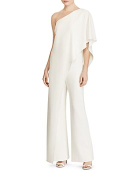 Ralph Lauren - Tiered One-Shoulder Jumpsuit - 100% Exclusive