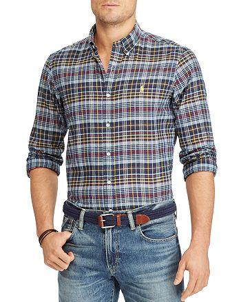 Polo Ralph Lauren - Madras Classic Fit Button-Down Shirt