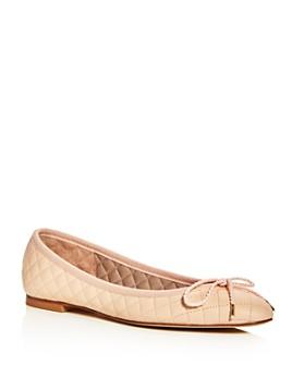 Paul Mayer - Women's Lido Lanai Quilted Ballet Flats