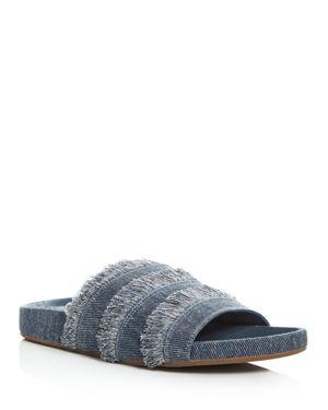 Joie Jaden Denim Pool Slide Sandals