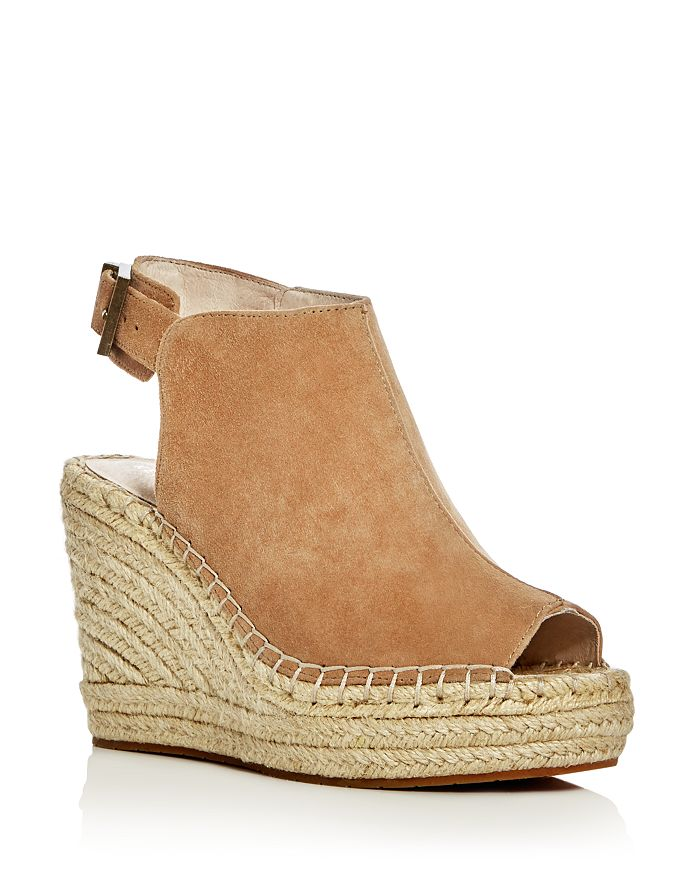 daab939bdc Kenneth Cole - Women's Olivia Suede Espadrille Wedge Platform Sandals