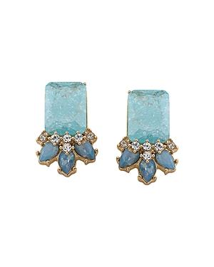 Carolee Cluster Stud Earrings