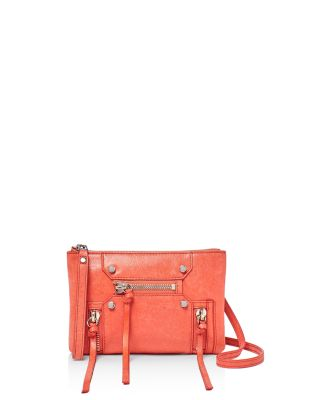 LOGAN CONVERTIBLE LEATHER WRISTLET