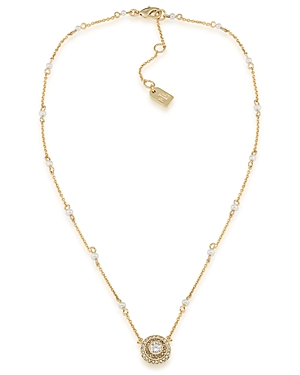 Lauren Ralph Lauren Collar Pendant Necklace, 16