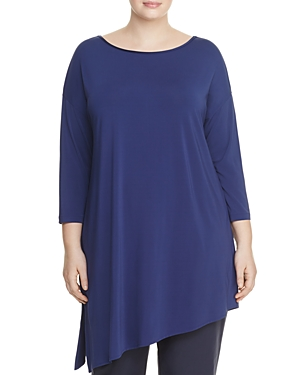 Lafayette 148 New York Plus Asymmetric Top