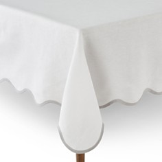 "Matouk Scallop Tablecloth, 70"" x 126"" - Bloomingdale's Registry_0"