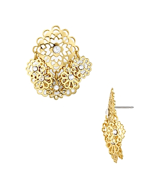 kate spade new york Golden Age Floral Earrings