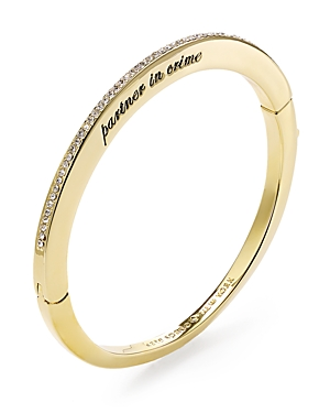 kate spade new york Partner in Crime Bangle