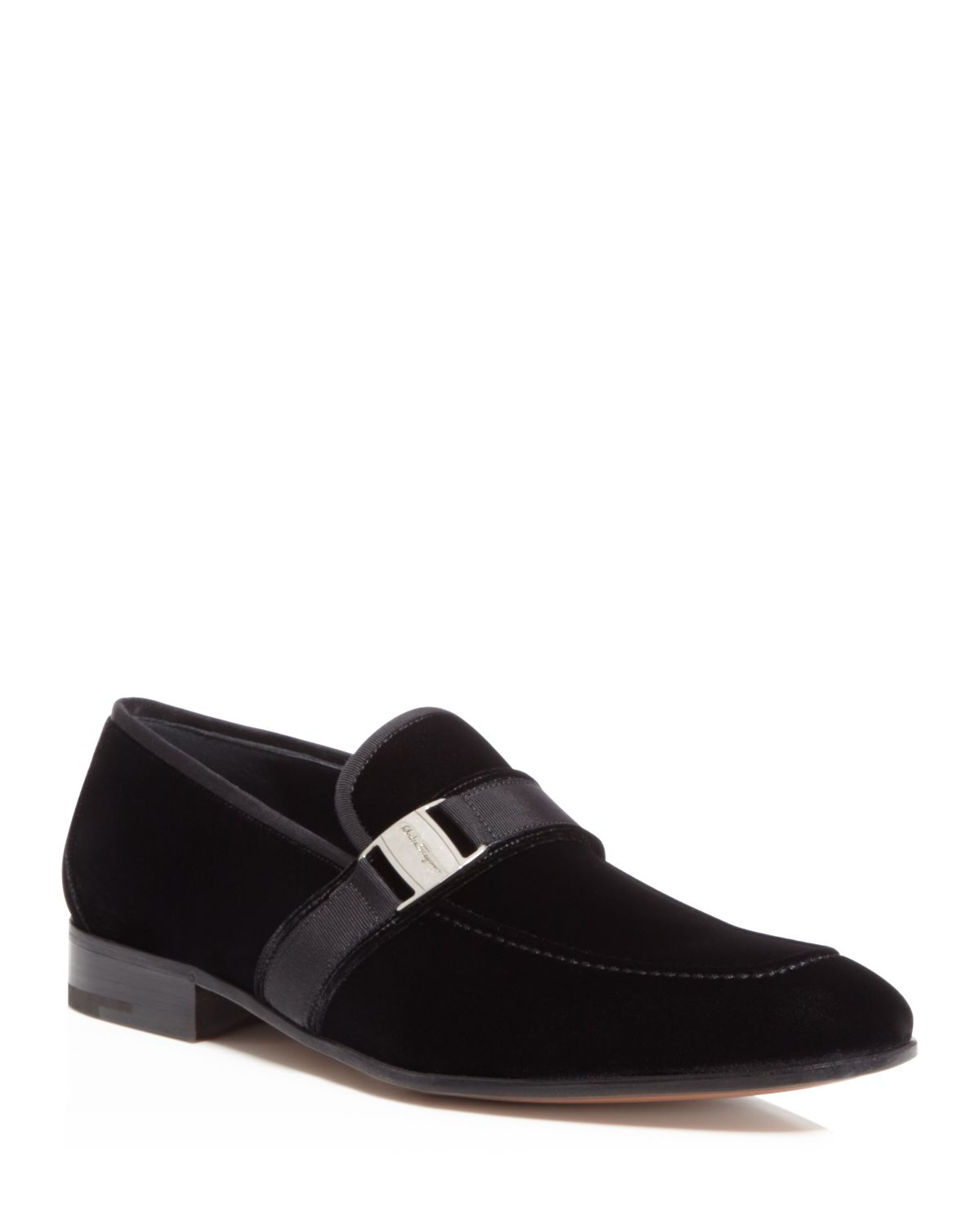Mocassins Ferragamo Salvatore Ornement - Noir 6Y7bT0