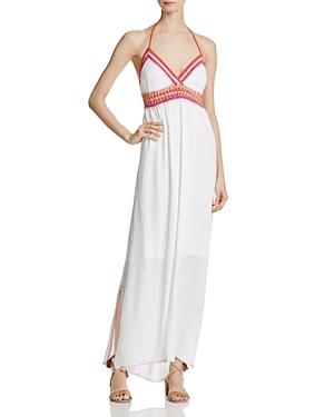 Banjara Crochet-Trim Maxi Dress