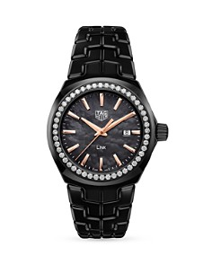 TAG Heuer Link Lady Diamond Watch, 32mm - Bloomingdale's_0