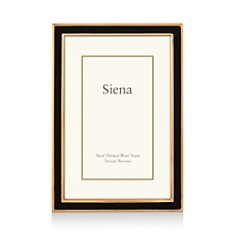 "Siena Black Enamel with Gold Frame, 8"" x 10"" - Bloomingdale's_0"