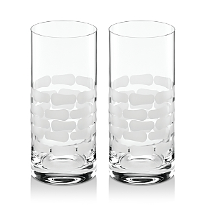 Michael Wainwright Truro Platinum Highball Glass, Set of 2