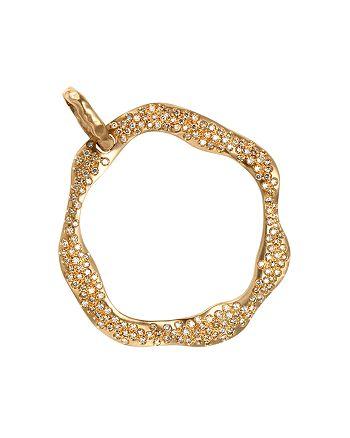 Antonini - 18K Rose Gold Anniversary Cognac Diamond Pendant