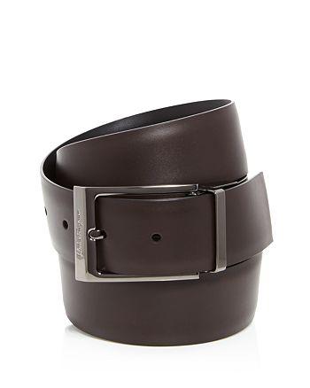 Salvatore Ferragamo - Reversible Square Buckle Dress Belt