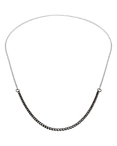 "Vitaly Binary x Matte Black/Antique Steel Necklace, 30"" - Bloomingdale's_0"